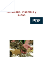 Marihuana, insomnio y sueño