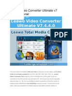 Leawo Video Converter Ultimate v7 Crack