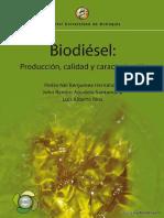 Biodiésel Producción Calidad y Caracterización
