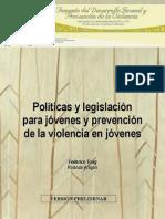 (12) Políticas y legislación para jóvenes y prevención de la violencia- Federico Tong y Rolando Aragon