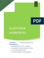 Informe Detallado Auditoria Ambiental