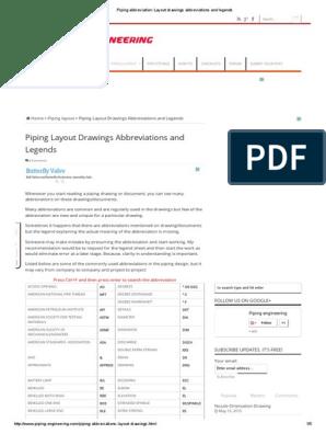 piping abbreviation_ layout drawings abbreviations and instrumentation abbreviations piping diagram abbreviations #13