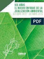 Fiscalizacion Ambiental en El Peru 2012 - 2015