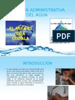 Gestion Administrativa del Agua