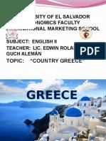 Presentacion Ingles II