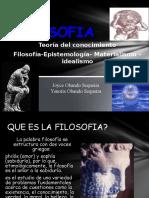 Filosofía y Epistemología