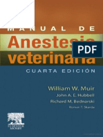 Manual de Anestesia Veterinaria