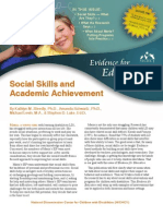 Social Skills and Academic Achievement
