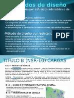 Clase 1_ Metodos de Diseño _ Cargas
