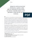 La Negligencia Educacional Del Ser Mexicano