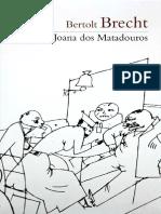 A Santa Joana Dos Matadouros - Bertold Brecht