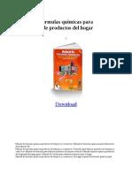 Manualdeformulasquimicasparaelaboraciondeproductosdelhogar