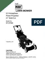 Craftsman Mower