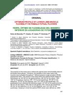 Perfil Óptimo de Flexibilidad Del Miembro Inferior en Jugadoras de Fútbol Sala. Rev Int Med CC AFD