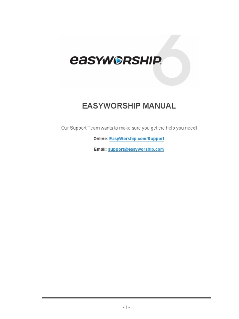 easyworship 2009 windows 10 full español
