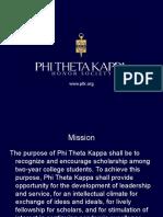 PTK Orientation Slides