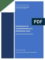 Experiencias de Acompañamiento Al Aprendizaje UMCE- Estudio de Sistematización