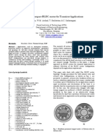 Design of a Compact BLDC motor for Transient Applications
