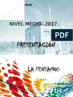 PROYECTO DE MEDIA  COMPLETO 2017.ppt