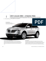 2011 Lincoln MKX – A Quieter Ride