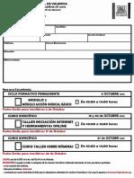 Ficha de Inscripcción (Octubre 2016 Autorellenable)