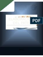 Elaboracion Del Pate
