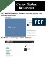 Connect Student Registration Information