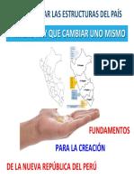 Fundamentos para la creación de la nueva répública del Perú