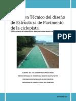 Dictamen Técnico del diseño de Pavimento de ciclo vía.pdf