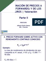 004 - Determinacion de Precios Forwards y Futuros 2Parte