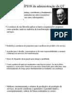 Os 14 PRINCÍPIOS Da Administração Da QT