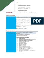 Curriculum Pedro Ant