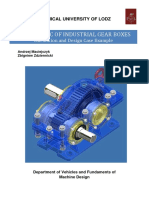 Design Basic of Industrial Gear Boxes