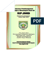 RPJMD Kab. Balangan 2016-2021