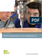 Work Experience for Employers Whole Booklet