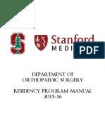 Ortho Residency Manual 2015-16_web