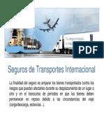 Seguro Transporte Internacional