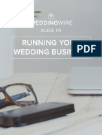 Guide to Running Your Wedding Business