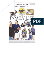 Family Life Merit Badge Pamphlet