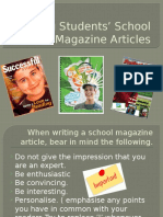 Writing Students School Magazine Articles (1)