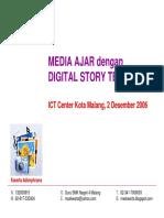 Media Ajar Dengan Digital Story Telling