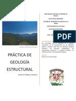 Práctica de Geología Estructural