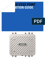 AP-7562 Access Point Installation Guide