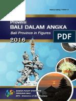 Provinsi Bali Dalam Angka 2016