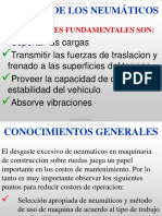 Curso Neumaticos Maquinaria Pesada Clasificacion Aplicaciones Caracteristicas Tmph Construccion Estructura Montaje Ajuste