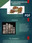 Tipos de Documentación Científica Diapositivas - Yesid Peña
