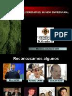 LÍDERES EN EL MUNDO EMPRESARIAL.PPT