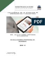 Silabo Enfermeria en La Atencion de Emergencias y Desastres Plan 2007 - 2016 - II