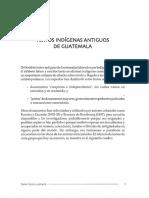 Textos Indigenas Antiguos de Guatemala