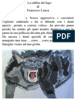 La rabbia del lupo